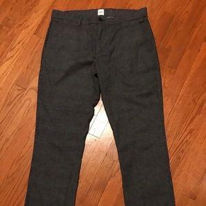 Gap Gray Tweed dress pants size 30x30.